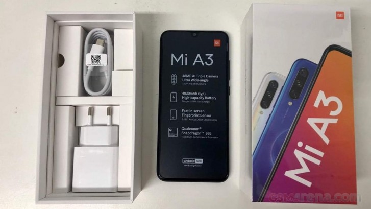 Here's What the Retail Package of the Xiaomi Mi A3 May Look Like