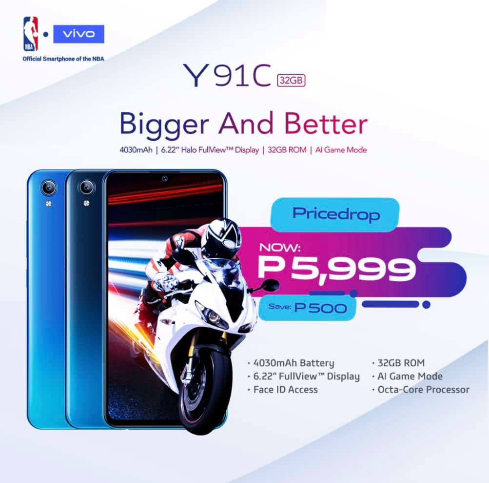 vivo y91c, Vivo Y91C Gets a Price Drop, Now Only PhP5,999!, Gadget Pilipinas