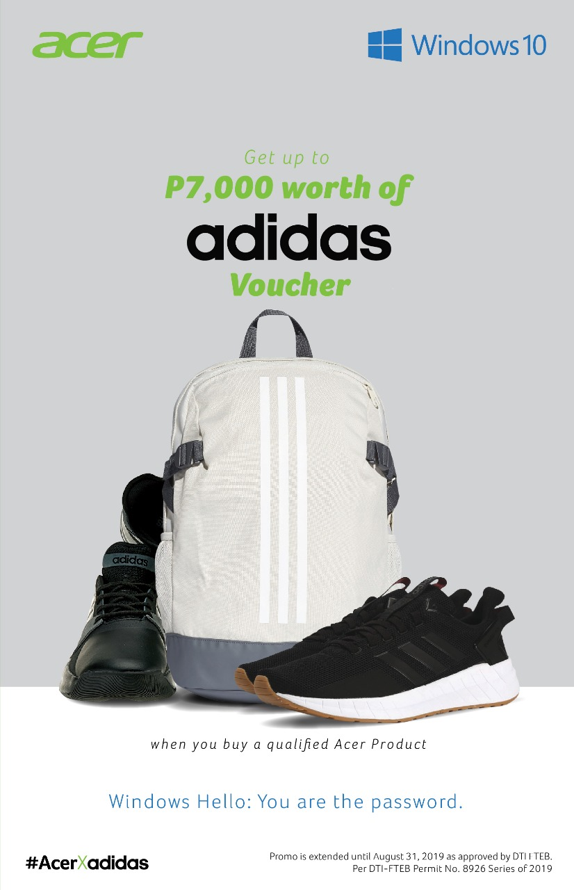 acer adidas, Get up to PhP7,000 worth of Adidas Vouchers with every purchase of select Acer and Predator Products!, Gadget Pilipinas, Gadget Pilipinas