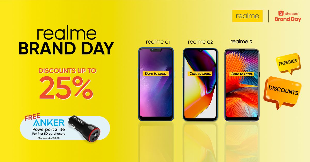 realme shopee, Realme to Hold its Biggest Flash Sale on August 13, 2019 via Shopee!, Gadget Pilipinas, Gadget Pilipinas