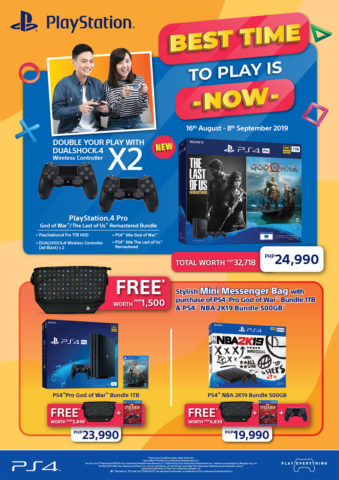 ps4 bundles, No need to wait for the PS5, grab some of these HOT PS4 bundles starting August 16!, Gadget Pilipinas