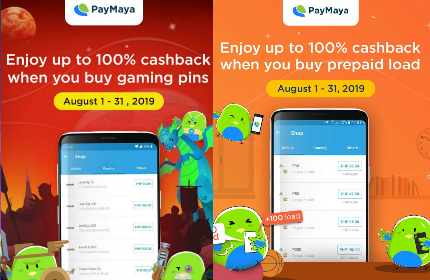 paymaya, Check Out these Awesome Deals from PayMaya for August!, Gadget Pilipinas, Gadget Pilipinas