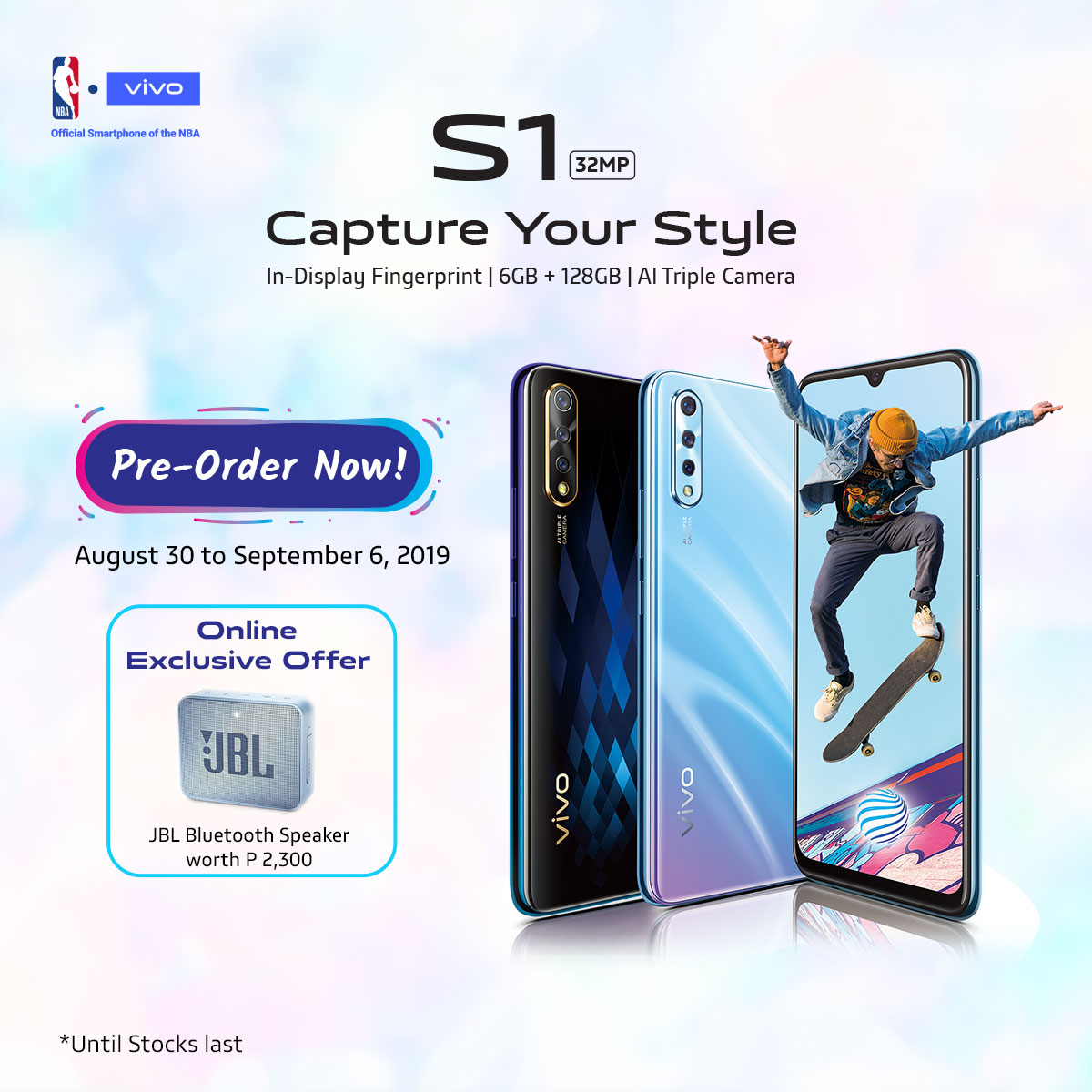 vivo s1, Vivo S1 Now Available for Pre-Order, Gadget Pilipinas