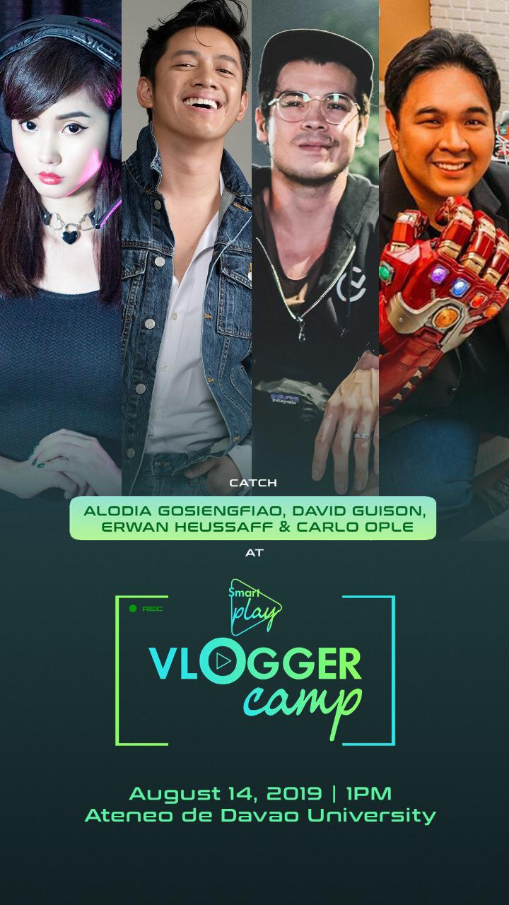 smart play vlogger camp, Smart Play: Vlogger Camp is a Convention Tailored for Aspiring Content Creators!, Gadget Pilipinas