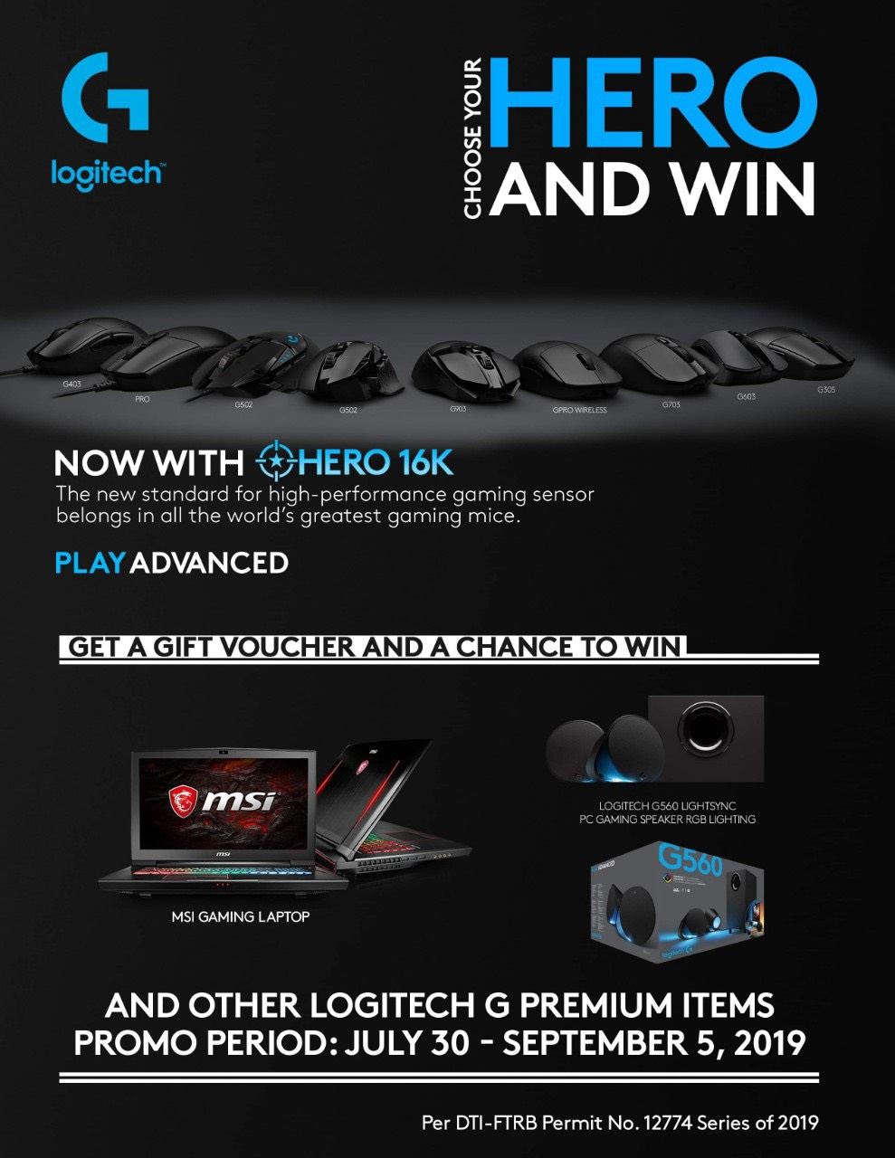 logitech g choose your hero, Get a Chance to Win Exciting Prizes with Logitech G's Choose Your Hero Promo!, Gadget Pilipinas