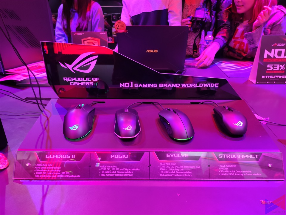 ASUS ROG Opens Gilmore Concept Store, Launches New Products in PH