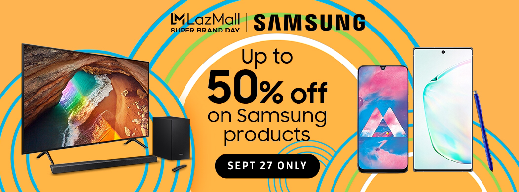 Samsung Lazada Super Brand Day, Samsung and Lazada Celebrate Super Brand Day with Huge Discounts and Great Offers!, Gadget Pilipinas