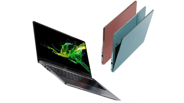 acer swift and aspire swift 3