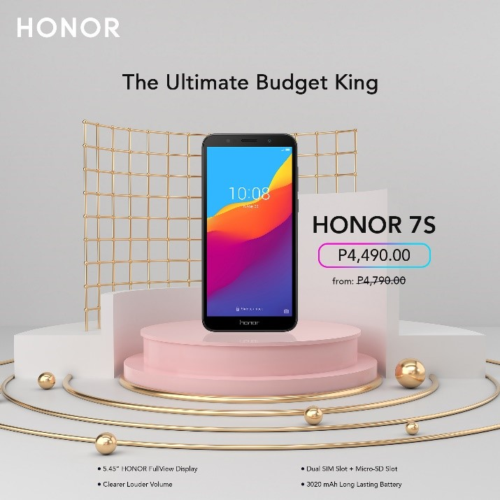 HONOR 7S, HONOR 7S is Now More Affordable!, Gadget Pilipinas, Gadget Pilipinas