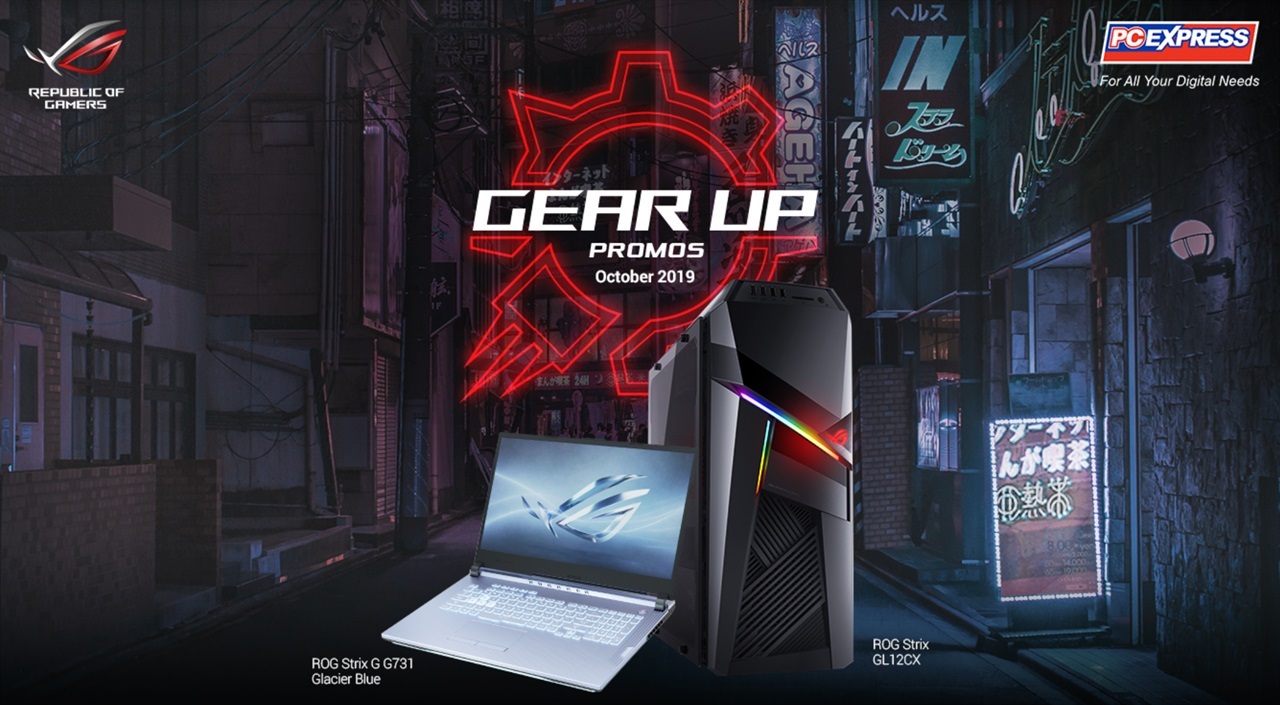ASUS ROG Gear Up, Gear-Up with ASUS ROG and PC Express this October!, Gadget Pilipinas