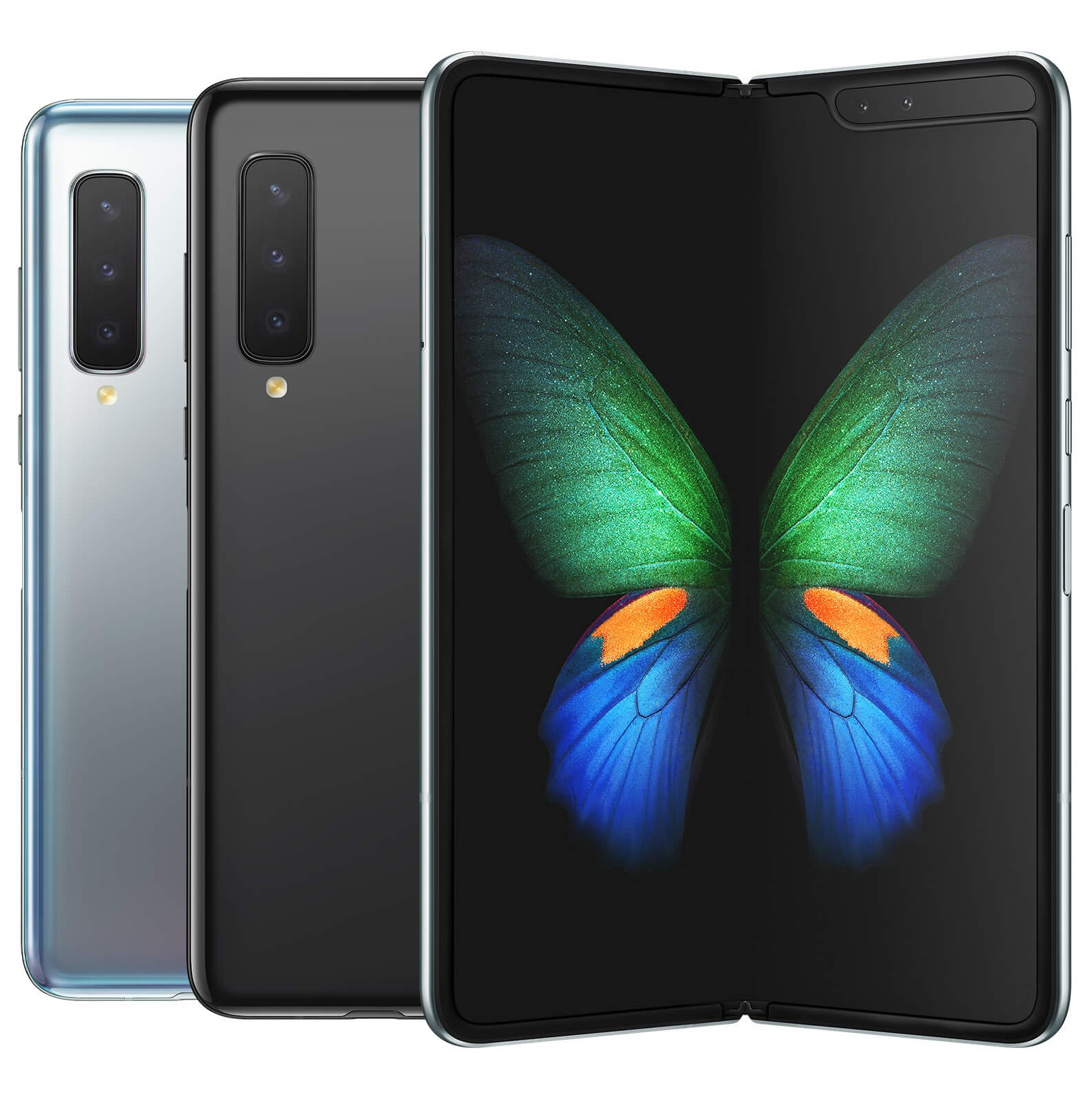 Galaxy Fold Front and Back