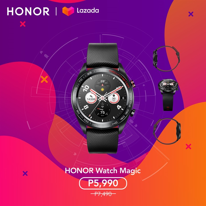 HONOR Watch Magic, HONOR Watch Magic Now Available in Lazada, Gadget Pilipinas