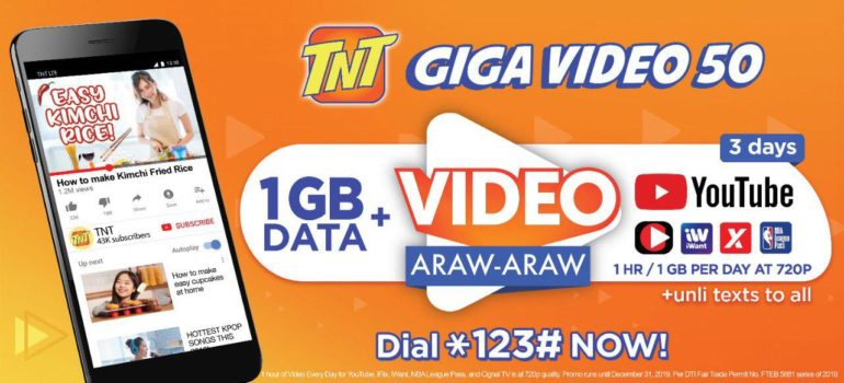 TNT GIGA Video