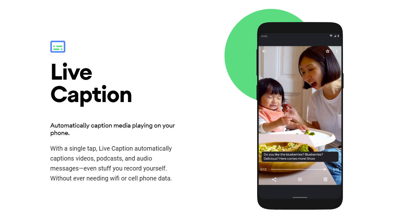 First look Live Caption, Here's a First look at Android 10's Live Caption feature, Gadget Pilipinas