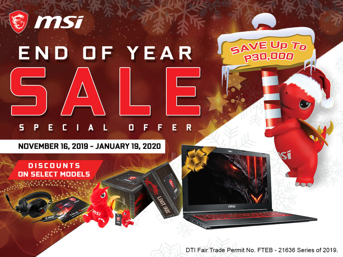 MSI End of Year Sale (1)