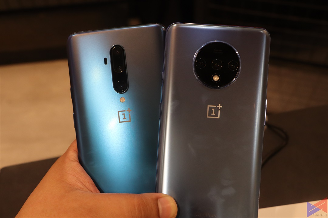 OnePlus 7T Pro and 7T Rear