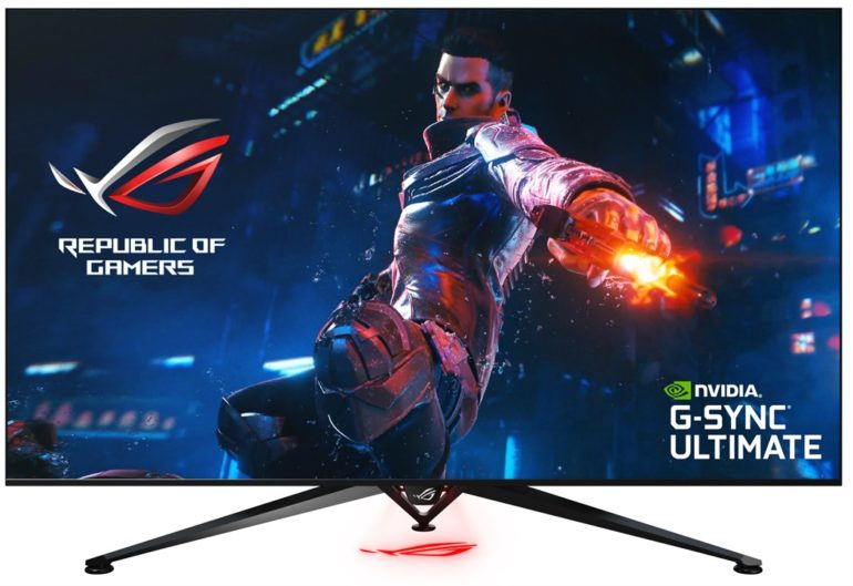 ROG Swift PG65UQ Big Format Gaming Display Press Release - Front