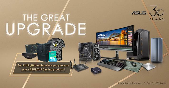 The Great Upgrade - ASUS