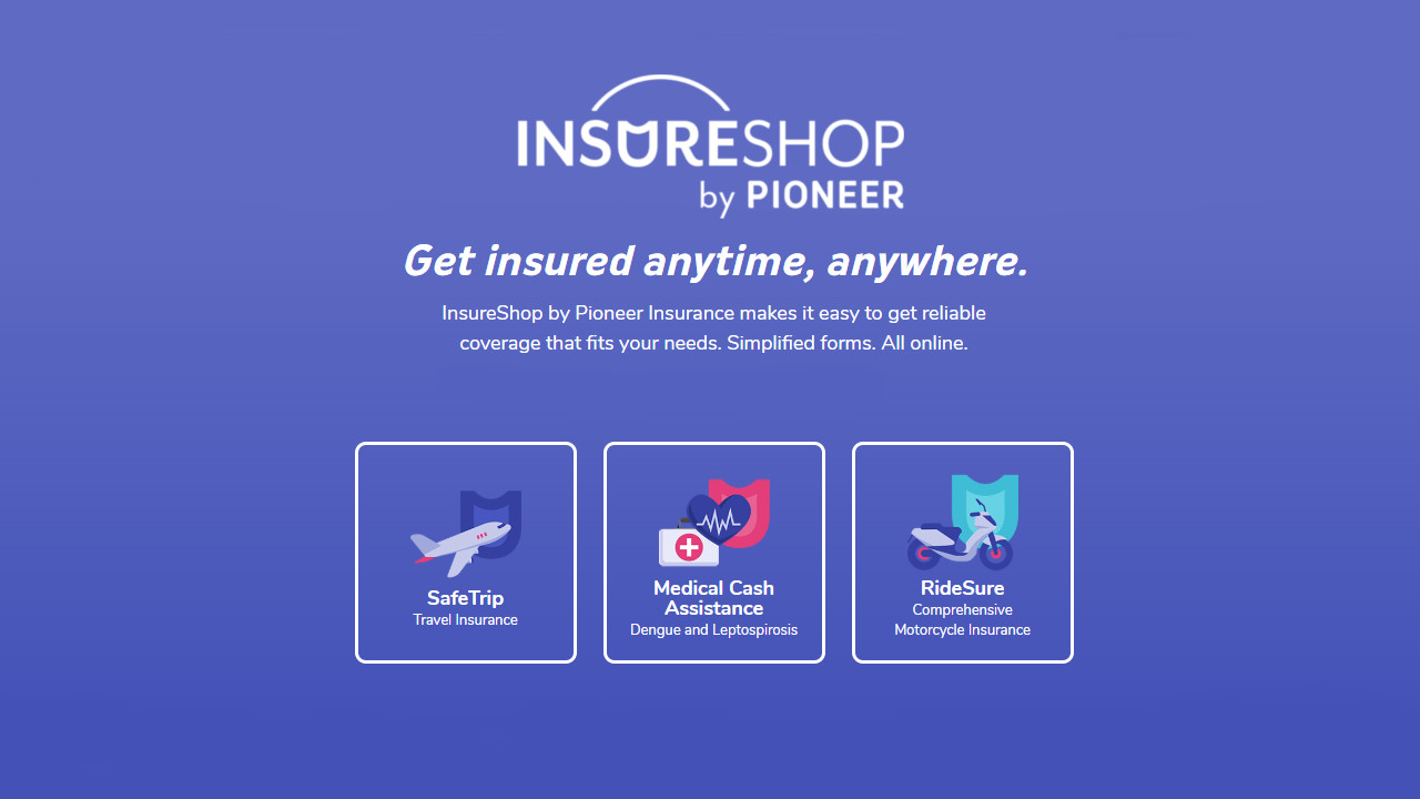 Pioneer InsureShop, InsureShop Makes Getting Insurance Easier and More Convenient for Filipinos, Gadget Pilipinas, Gadget Pilipinas