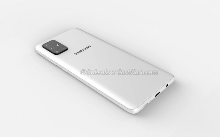 Samsung Galaxy A71 renders, Samsung Galaxy A71 Renders Surface, Shows L-Shaped Quad Camera Module, Gadget Pilipinas, Gadget Pilipinas