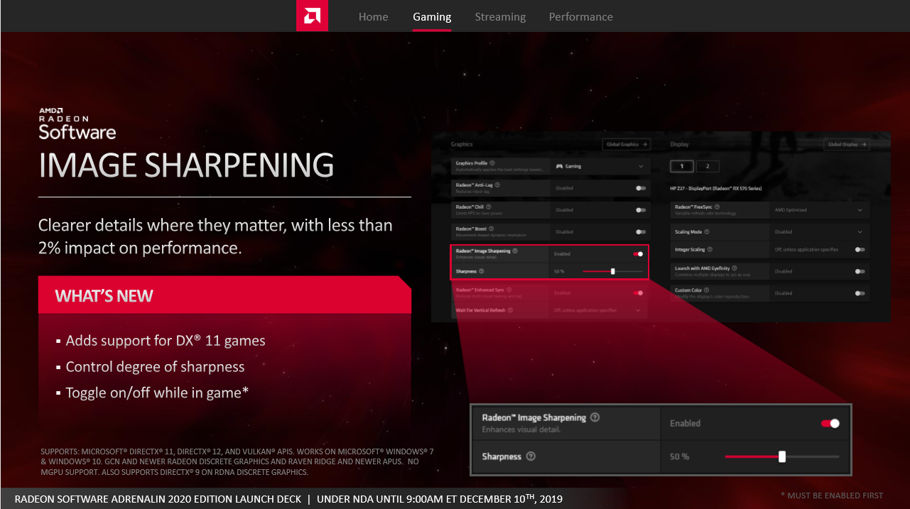 Adrenalin 2020 Edition, AMD Launches Radeon Software Adrenalin 2020 Edition – Display Integer Scaling, DirectML Media Features, Radeon Boost and More, Gadget Pilipinas, Gadget Pilipinas