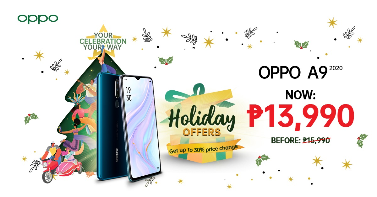 OPPO Christmas Roadshow, OPPO Welcomes the Holidays with a Grand PamaskOPPO Christmas Roadshow!, Gadget Pilipinas, Gadget Pilipinas