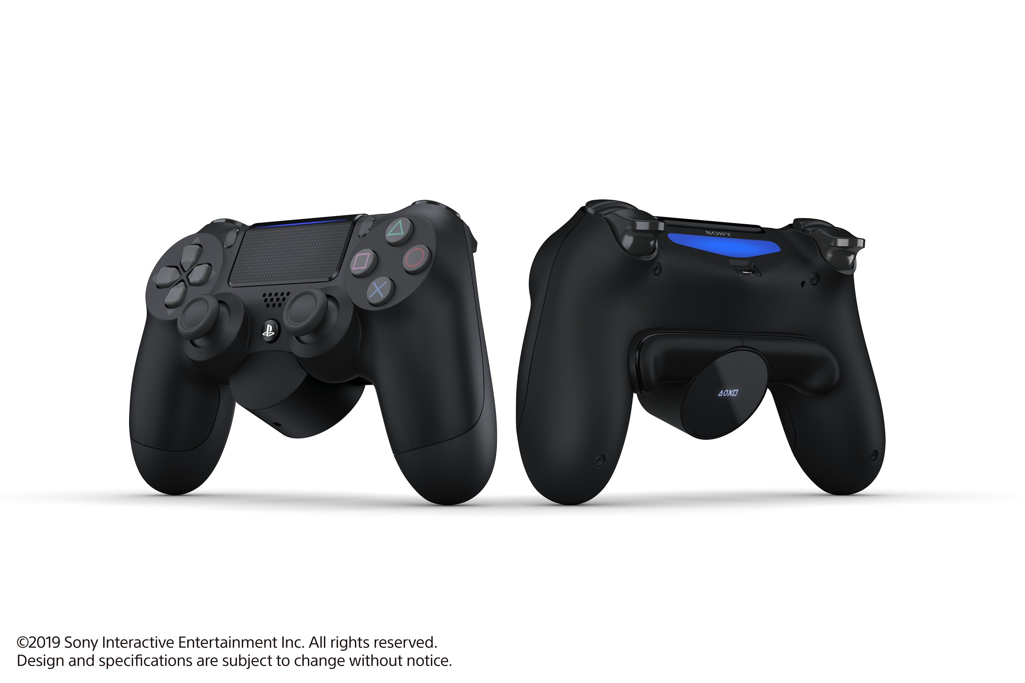 ps4 controller back button attachment, Sony PlayStation introduces a DualShock 4 back button attachment aimed for competitive use, Gadget Pilipinas, Gadget Pilipinas