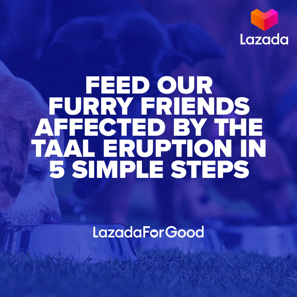Lazada Tulong for Taal, Lazada Launches Tulong For Taal Donation Drive!, Gadget Pilipinas, Gadget Pilipinas