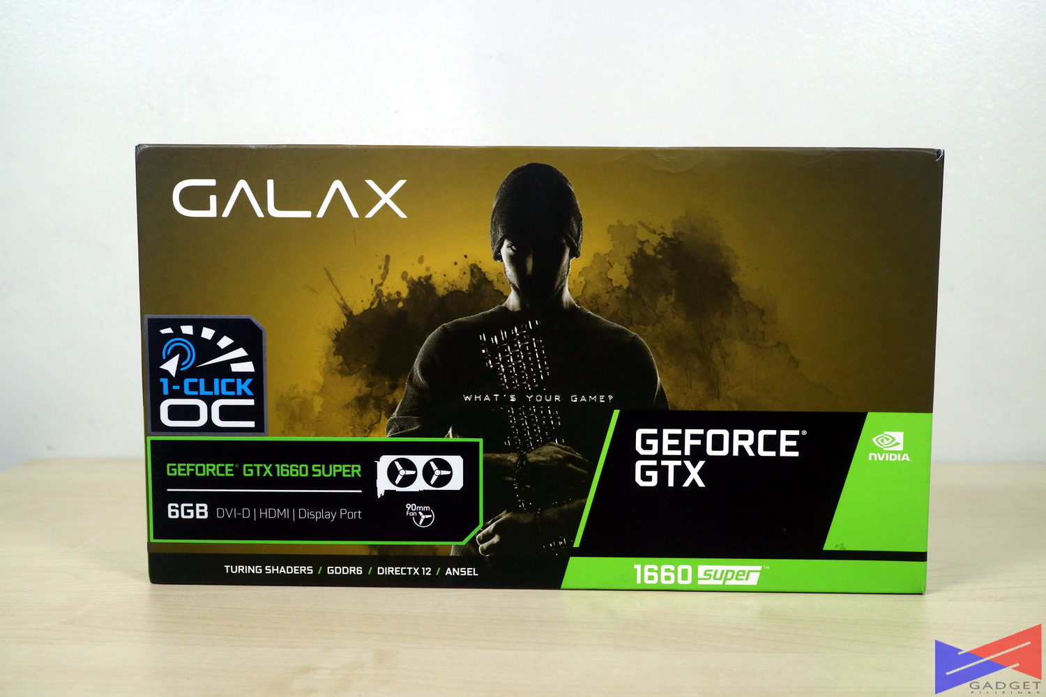 Galax GTX 1660 Super, Galax GTX 1660 SUPER 1-Click OC Graphics Card Review, Gadget Pilipinas, Gadget Pilipinas
