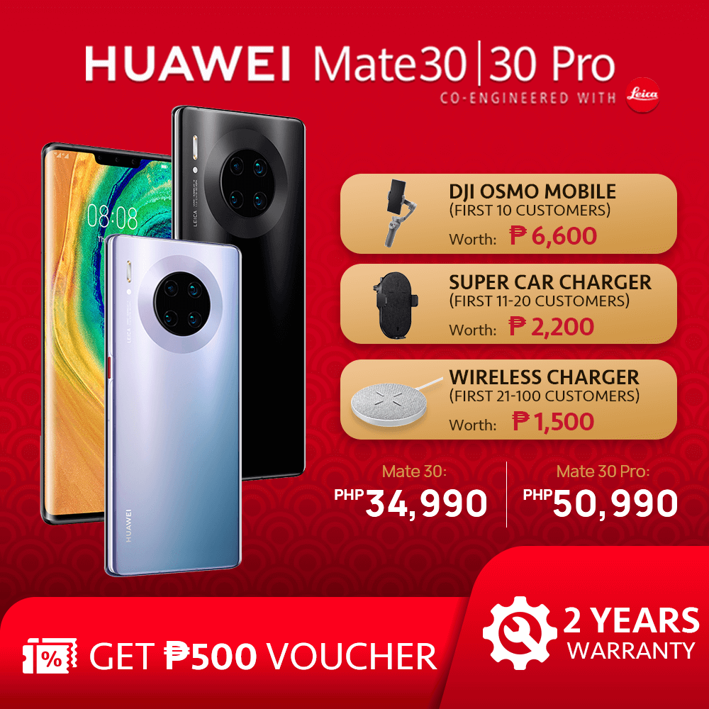Huawei Mate 30 Series Promo, Get a Chance to Take Home Awesome Freebies with a Purchase of a Huawei Mate 30 Series Smartphone!, Gadget Pilipinas, Gadget Pilipinas