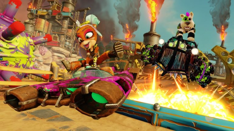 Welcome to the Rustland Grand Prix the latest season for Crash™ Team Racing Nitro Fueled 3