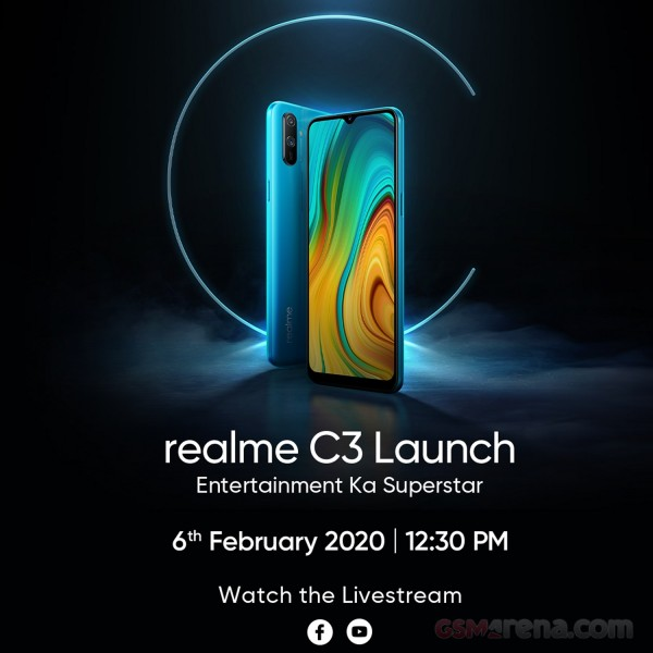 Realme C3 February 6, Realme C3 Set to Launch on February 6, Gadget Pilipinas, Gadget Pilipinas