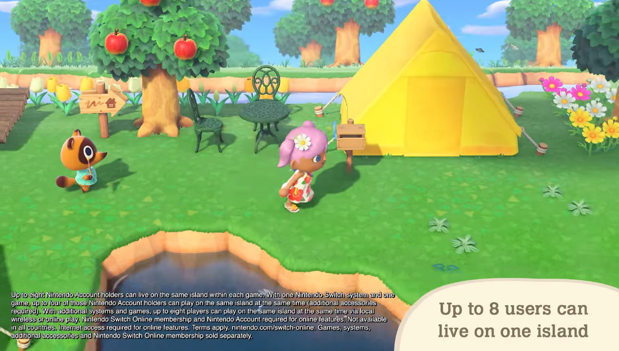 animal crossing new horizons nitendo direct multiplayer 2