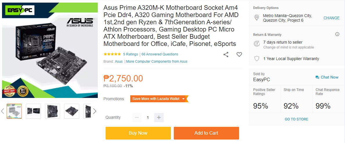 Php 10k Work From Home PC Build Guide - ASUS Prime A320M-K