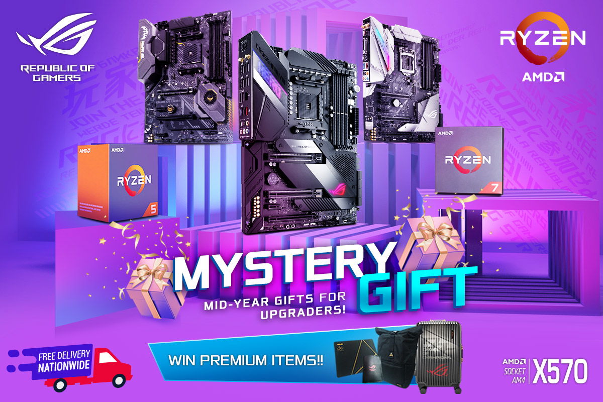 ASUS-AMD Mystery Gift Promo