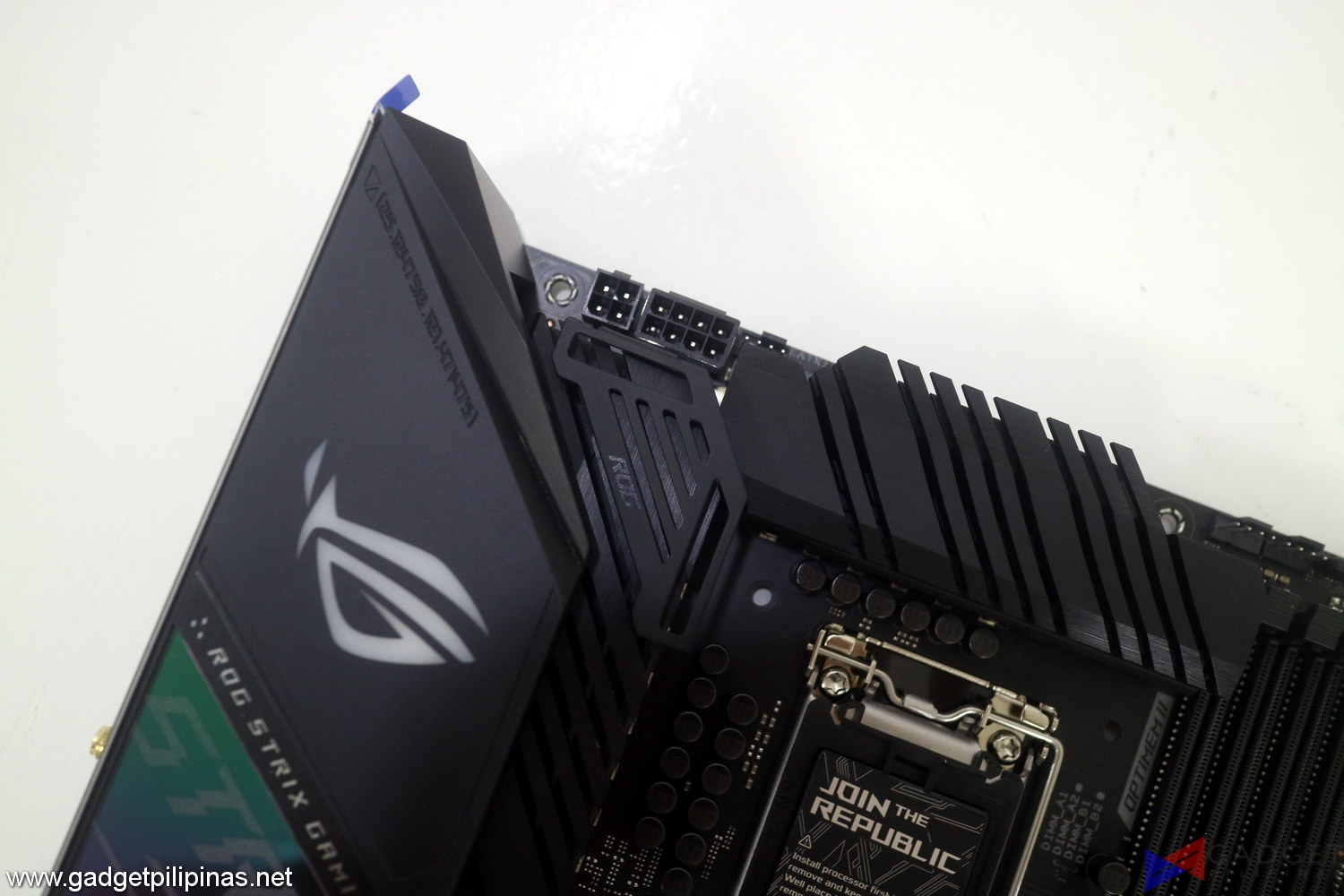 ASUS ROG Strix Z490-E Gaming Motherboard Initial Review - solid core pins