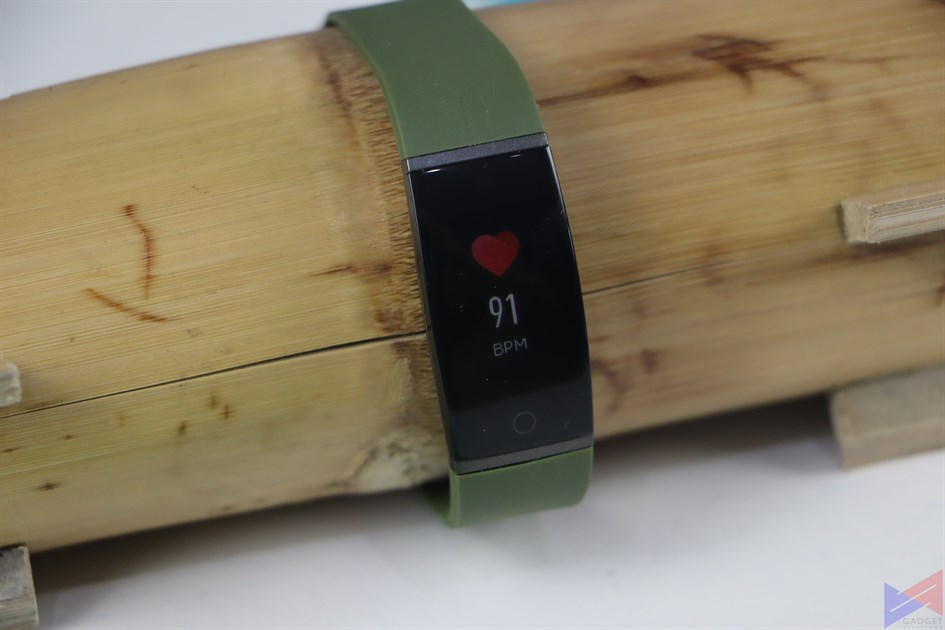 realme band heart rate