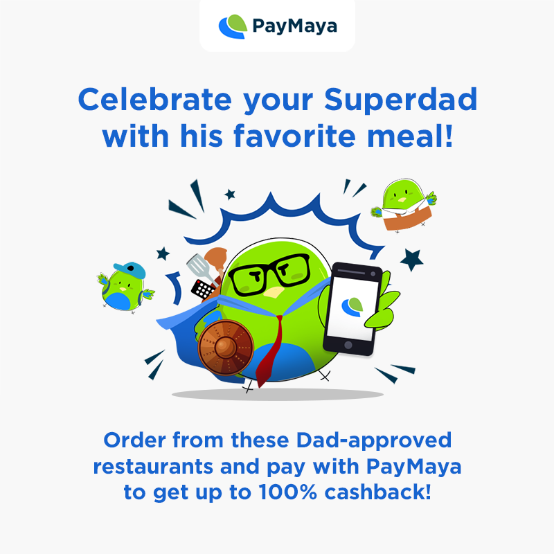 PayMaya Father's Day