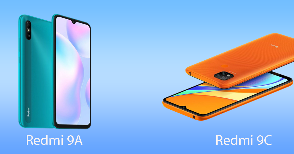 Redmi 9A and 9C