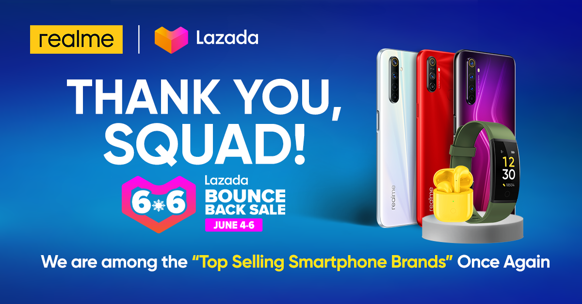 realme 6 sold out Lazada 6.6