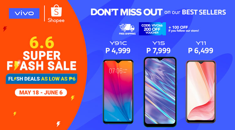 vivo shopee 6.6