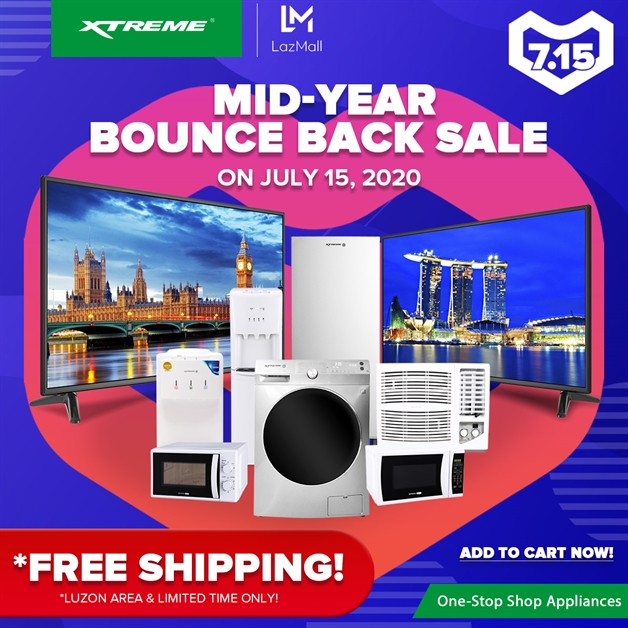 XTREME Appliances Lazada Mid-Year Bounce Back Sale 3