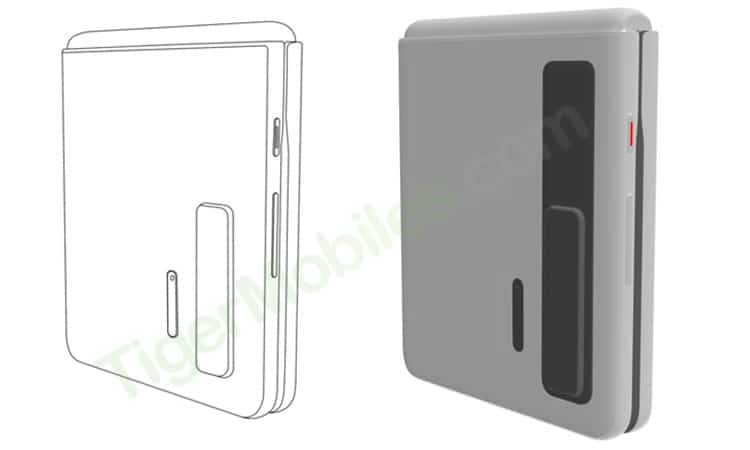 Huawei Clamshell Phone Patent 1