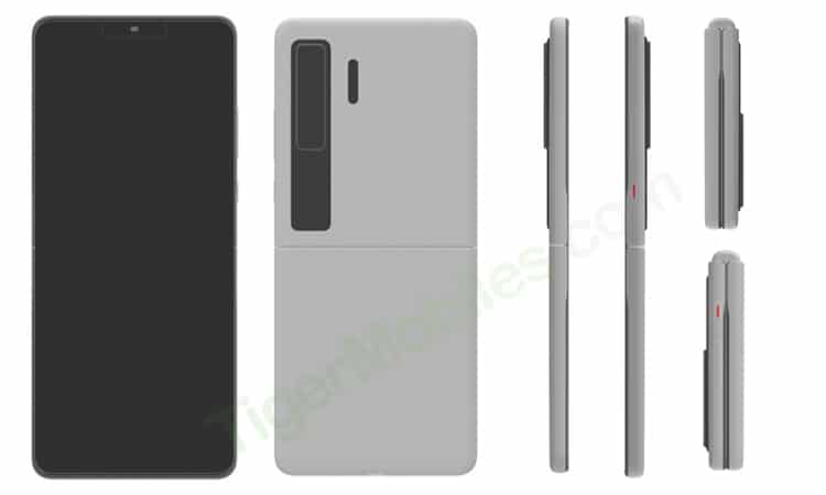 Huawei Clamshell Phone Patent 2