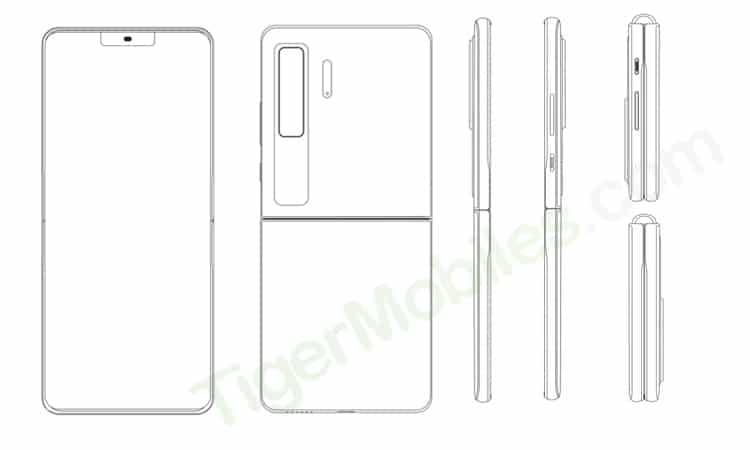 Huawei Clamshell Phone Patent 3