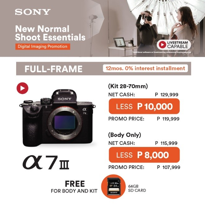 Sony New Normal Shoot Essentials 1