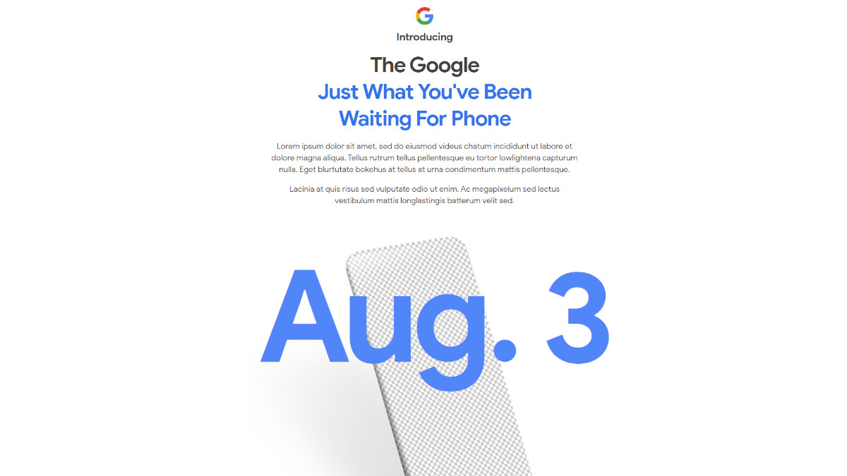 Pixel 4a reveal 3