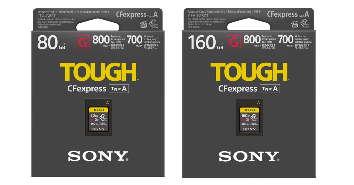 Sony CFexpress Type A Memory Cards - 1