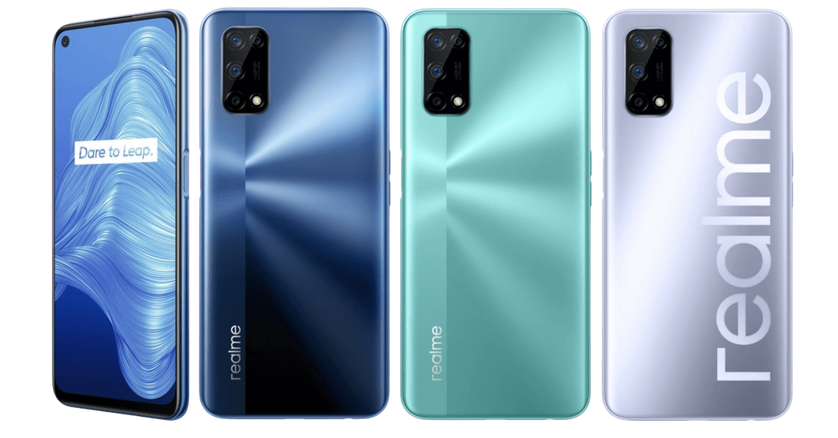 realme V5 - All Colors - 2