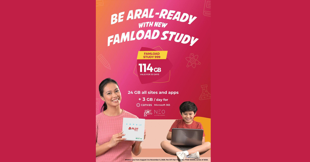 PLDT Home Wifi - FamLoad e-Learning - featured
